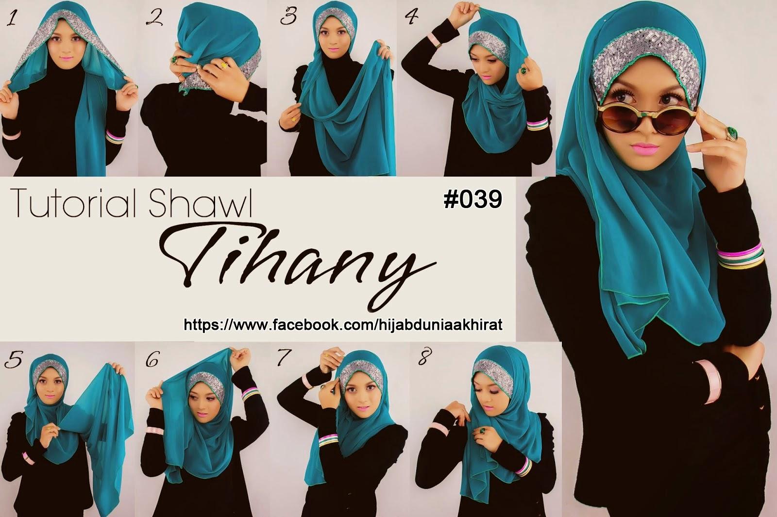 December 2014 Tutorial Hijab