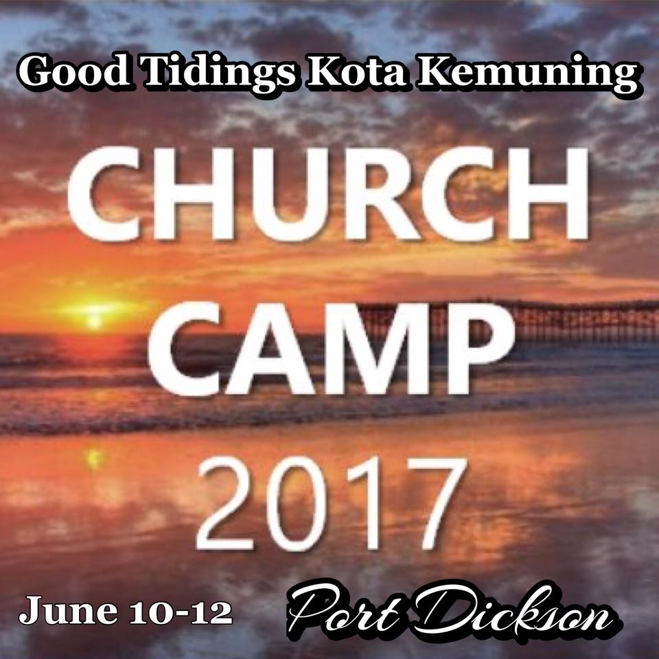 Church camp 2017- an event not to be missed!