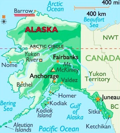 Arctic Circle Alaska Maps Submited Images