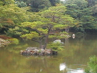 金閣寺 Kinkaku-ji garden Golden Pavilion Pavillon d'Or  Kyoto 京都市 Japan Japon
