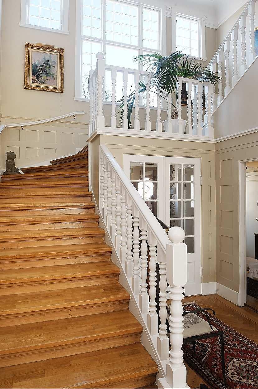 Finaste huset: trappor att svepa nerför