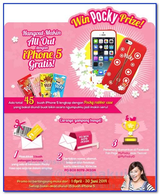 Kuis Undian Berhadiah Total 45 iPhone 5 GRATIS