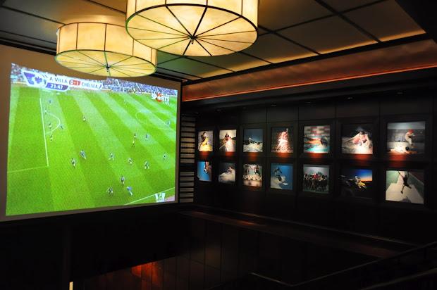Modern Sports Bar Interior Design