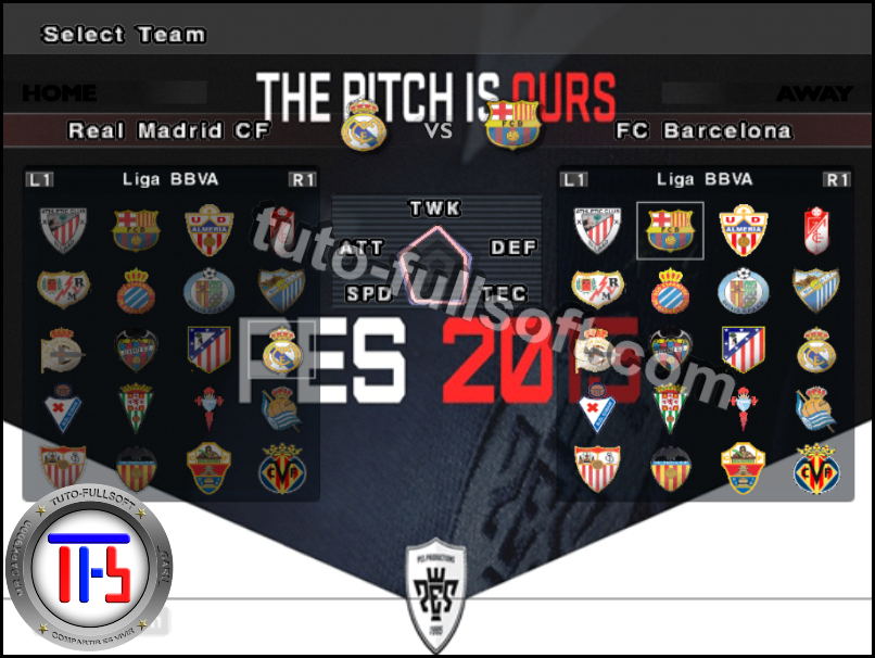 Pes 6 Parche Temp 2014-2015 option file actualizado + tutorial ~ blog