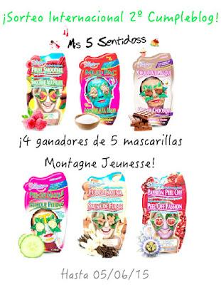 ¡Ganadores Sorteo Mascarillas Montagne Jeunesse!