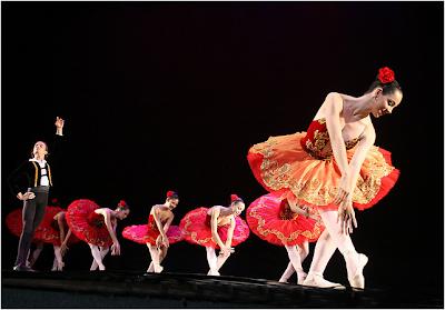 A Competição no Ministerio de Dança
