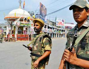 Personnel deployed to peace in Muzaffarnagar