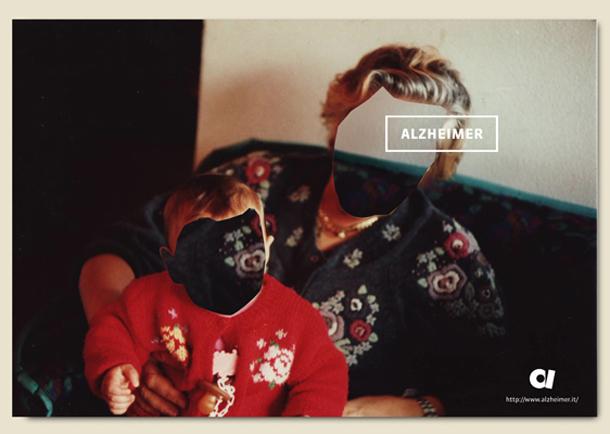 Faceless - Campanha publicitária para a pesquisa da doença de Alzheimer