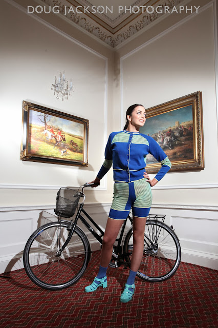 Cycling fashion - photoshoot
