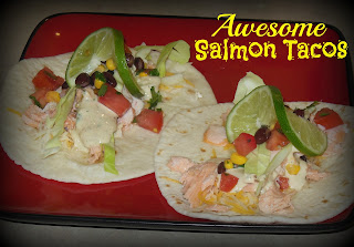 Awesome Salmon Tacos