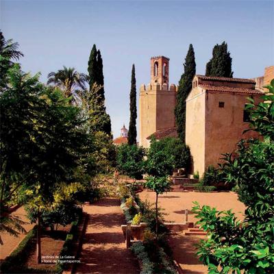 Badajoz turismo Jardines de la Galera y Torre de Espantaperros