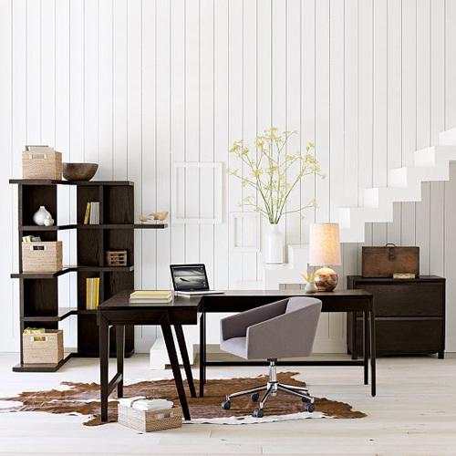 Decora y disena oficina minimalista idea para trabajar for Muebles para oficina en casa