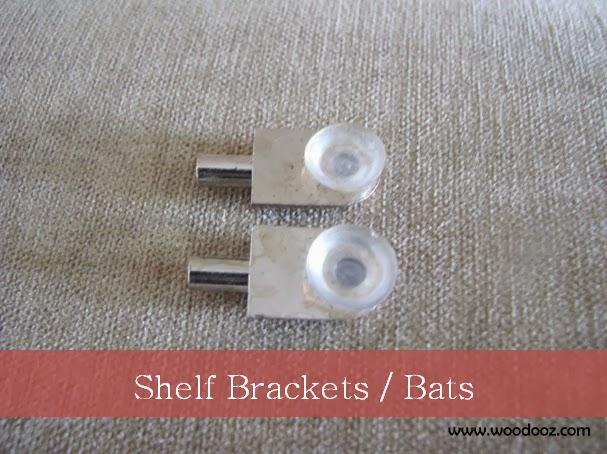Shelf brackets - Glass shelf support