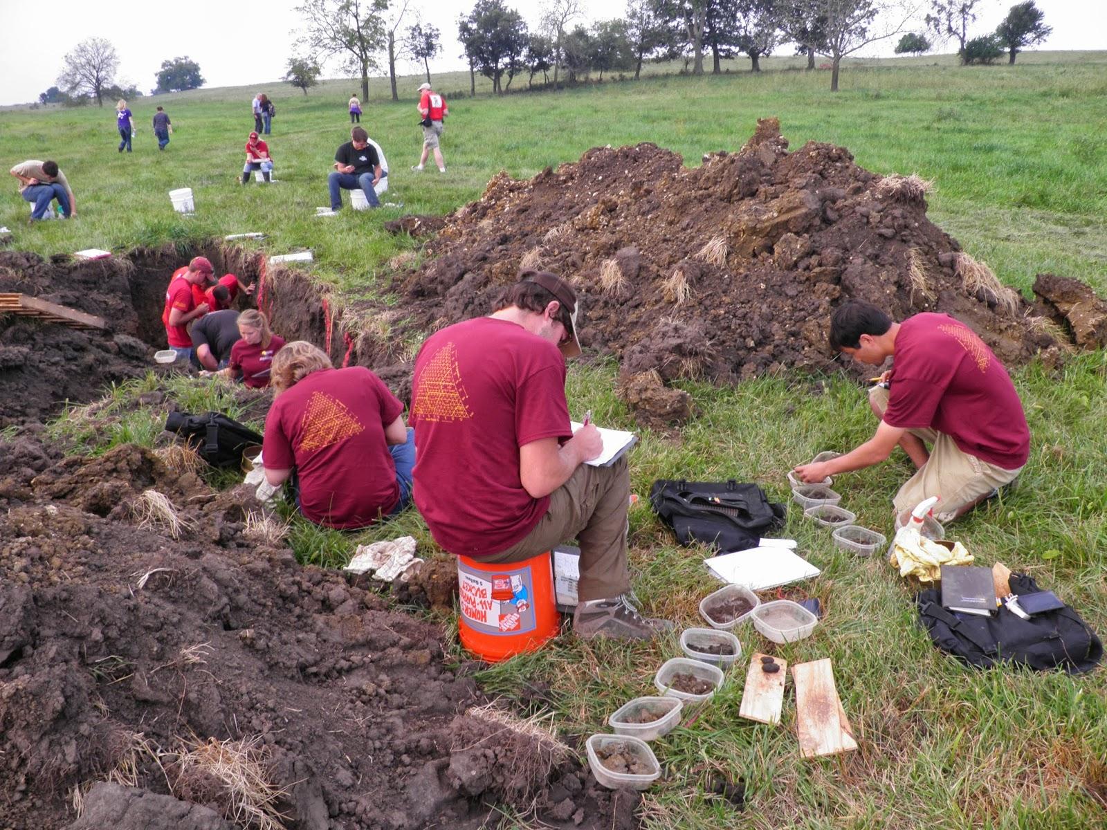 University of minnesota soil judging team september 2013 for Soil judging