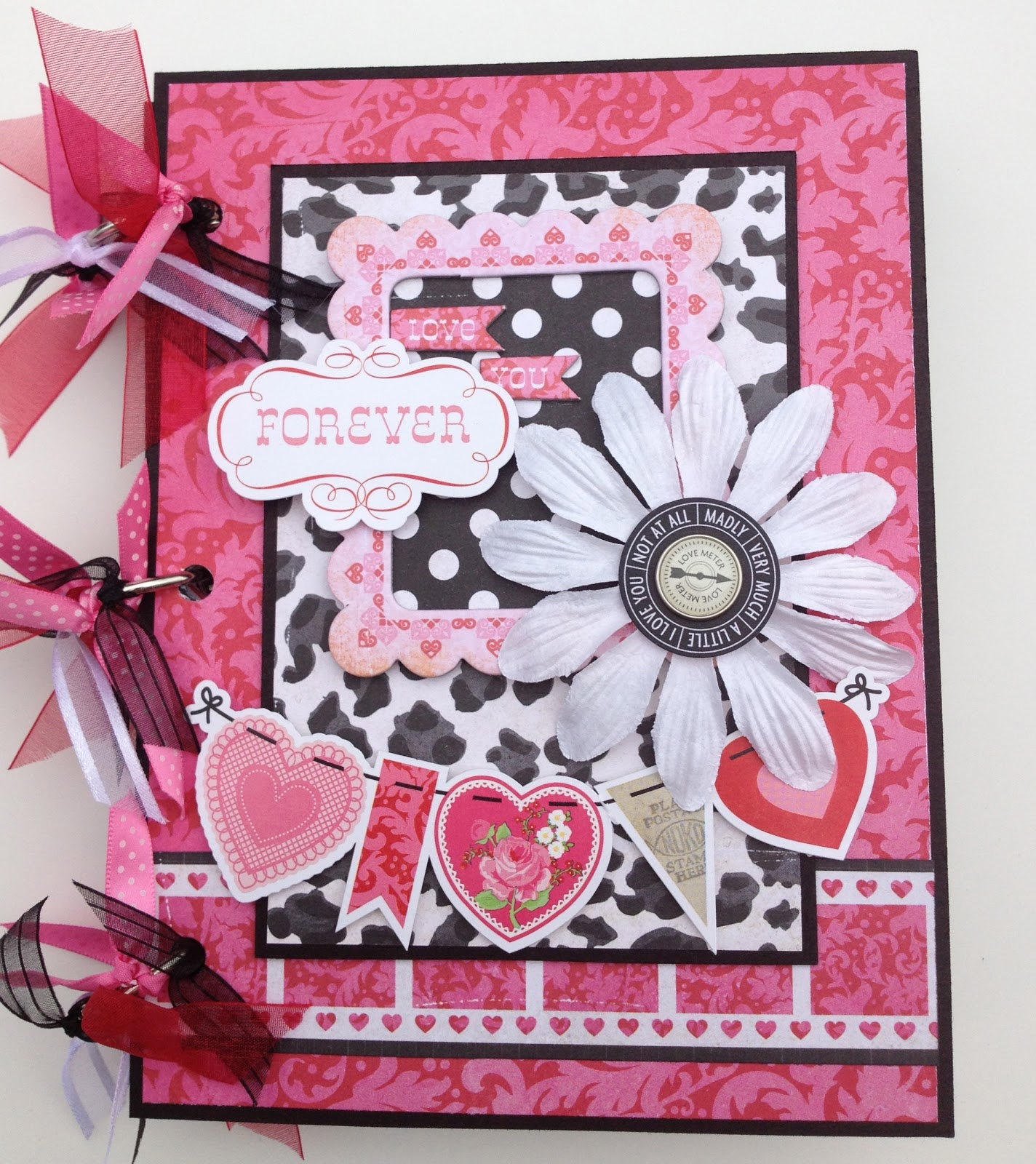 Handmade Scrapbook Cover : Artsy albums mini album and page layout kits custom