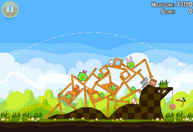 Angry Bird Season Screenshots 1