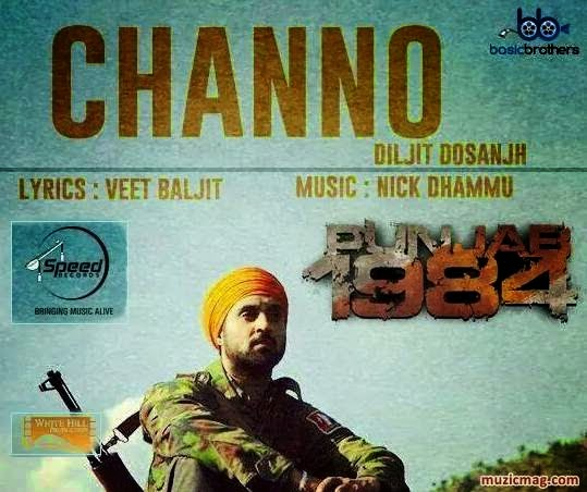 channo lyrics and hd video  diljit dosanjh  punjab 1984