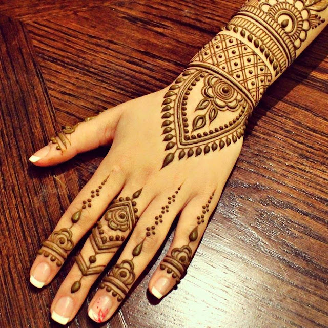 Mehndi Designs New Simple : Simple mehndi designs one hand new
