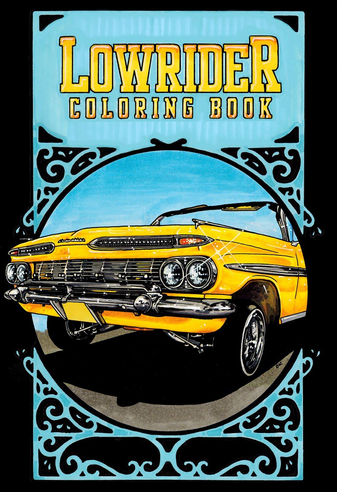 donutchocula lowrider coloring book