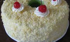 resep praktis (mudah) mengolah kue chiffon cake keju spesial enak, legit, lezat