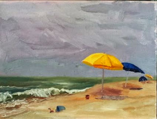 Kath Schifano, Long Beach painting