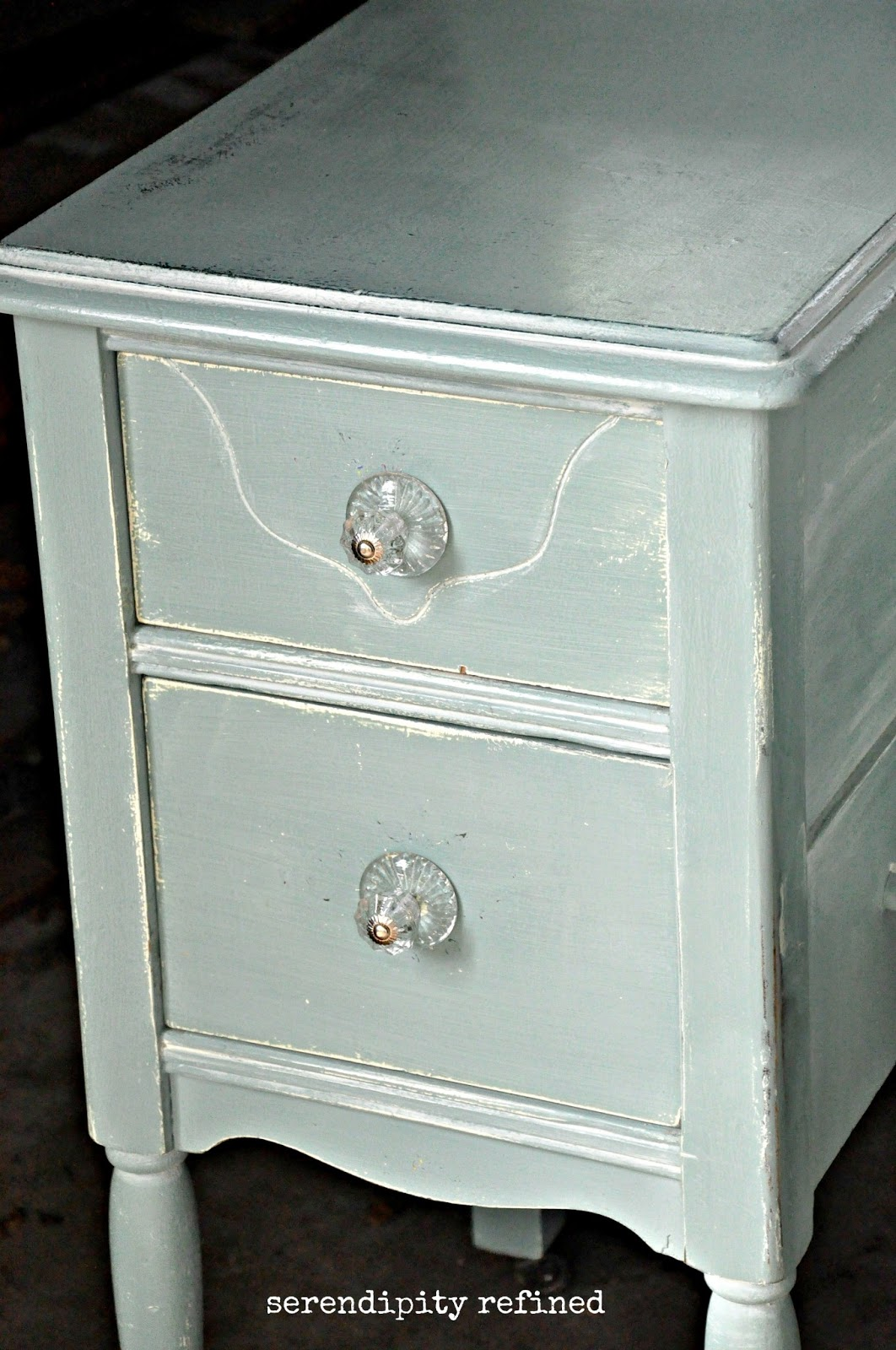 Serendipity Refined: Help with YOUR DIY #4: Chalk Painted Vanity ...