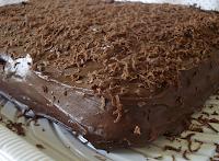 Bolo de Chocolate Trufado (vegana)
