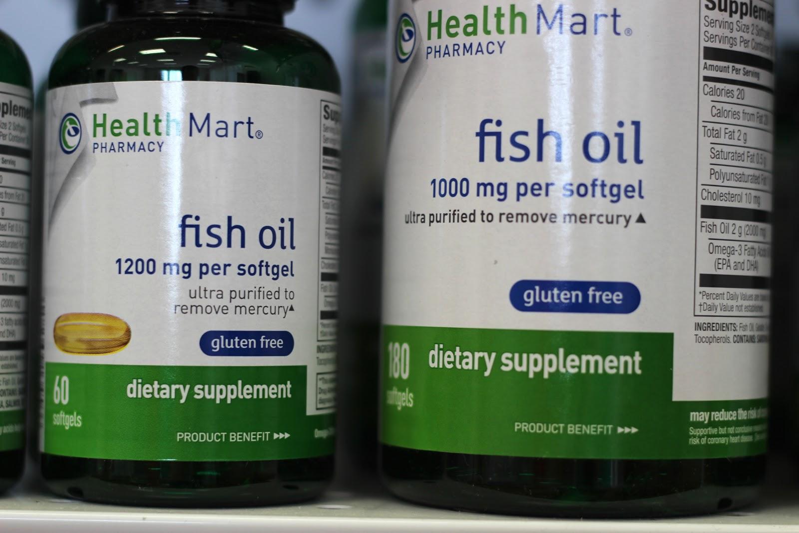 The druggist diary brandon health mart pharmacy blog for Fish oil benefit