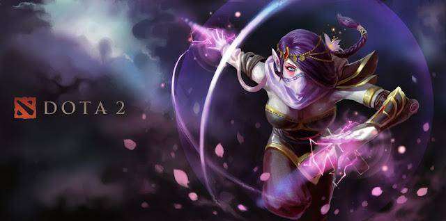 Templar Assassin Dota 2 artwork