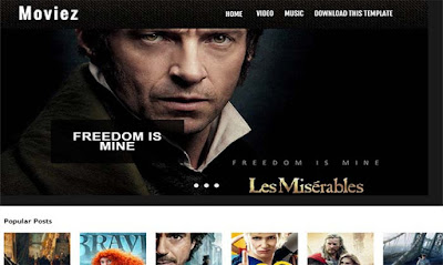 moviez-blogger-template-free-responsive