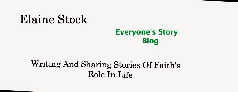 Elaine Stock--Author***Everyone's Story--Blog