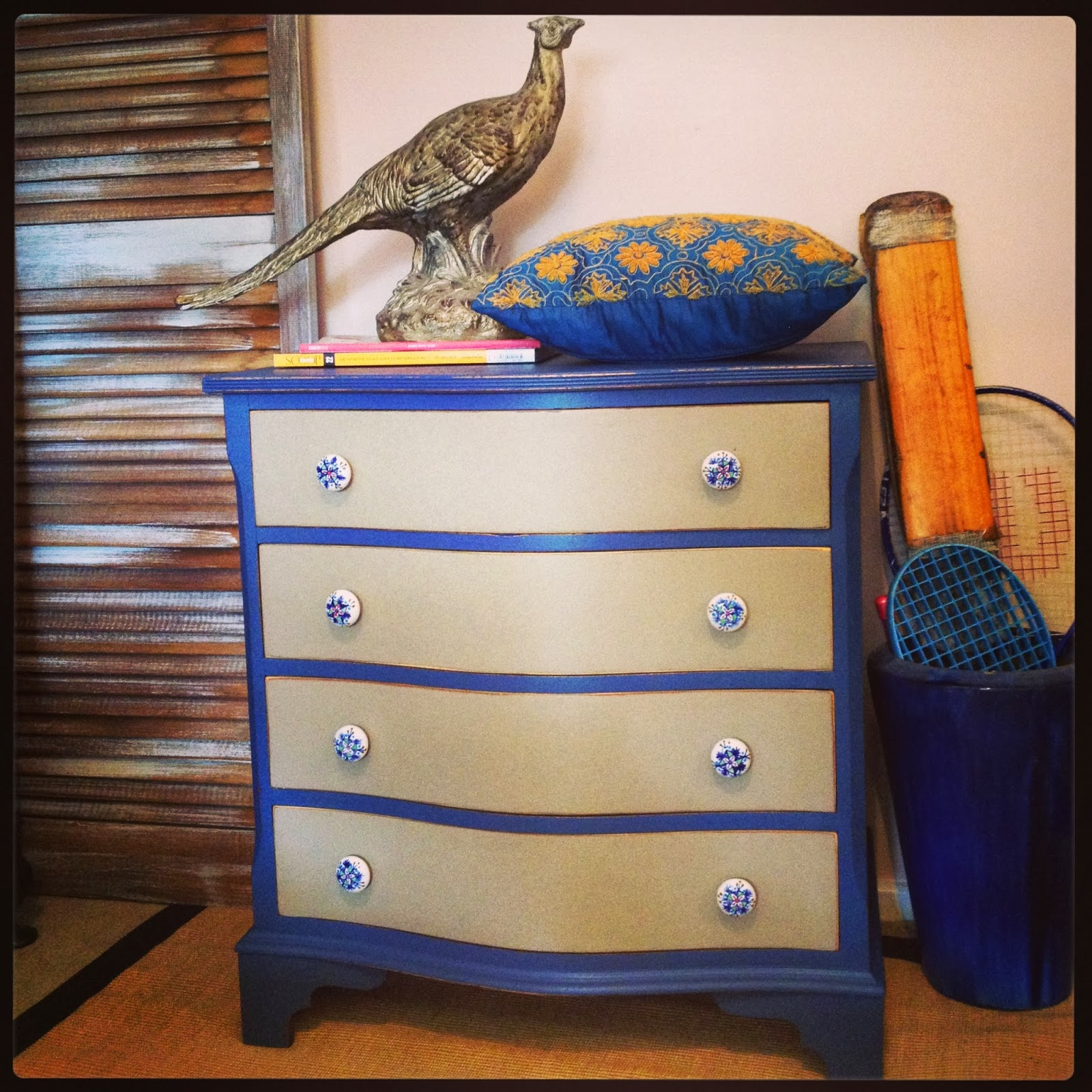 Drip Designs Furniture Curved 4 Drawer Chest