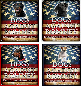 Official Dogs Against Romney Tees