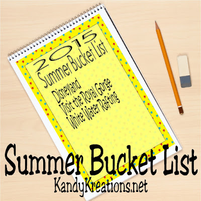 Celebrate summer with a fun free summer bucket list printable to help you plan some amazing activities to keep your kids busy and your family making memories.