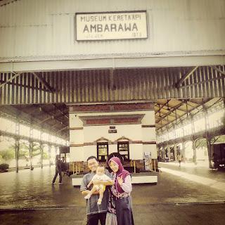 Jalan-jalan ke Museum Kereta Api Ambarawa