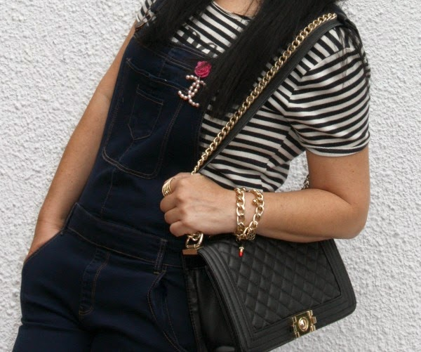 Jumpsuit denim Prim Secret