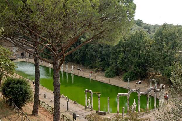 Villa Adriana Italy