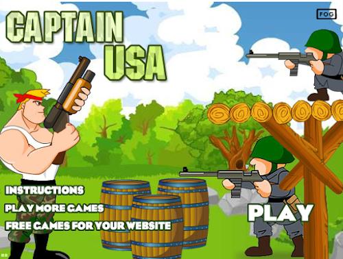 Jogar Online Captain USA