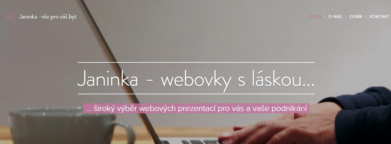 Tvoříme weby na zakázku