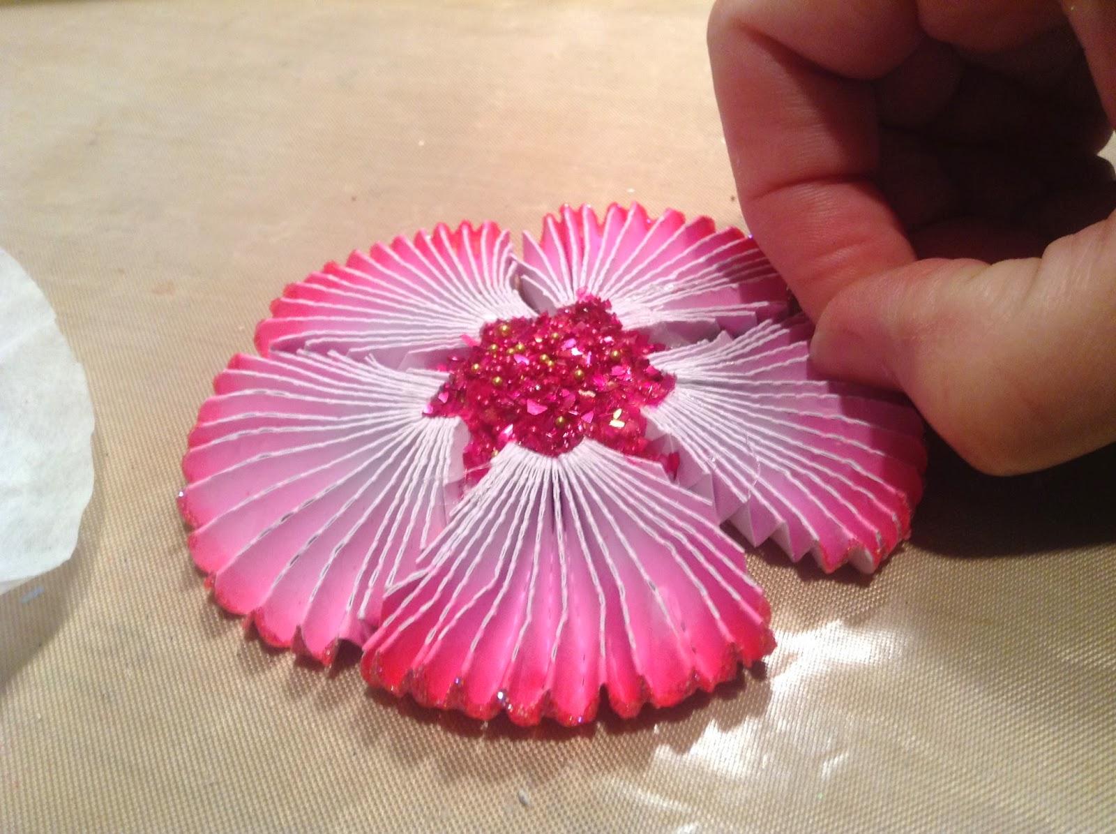 Artglitterblog Art Glitter Flowers