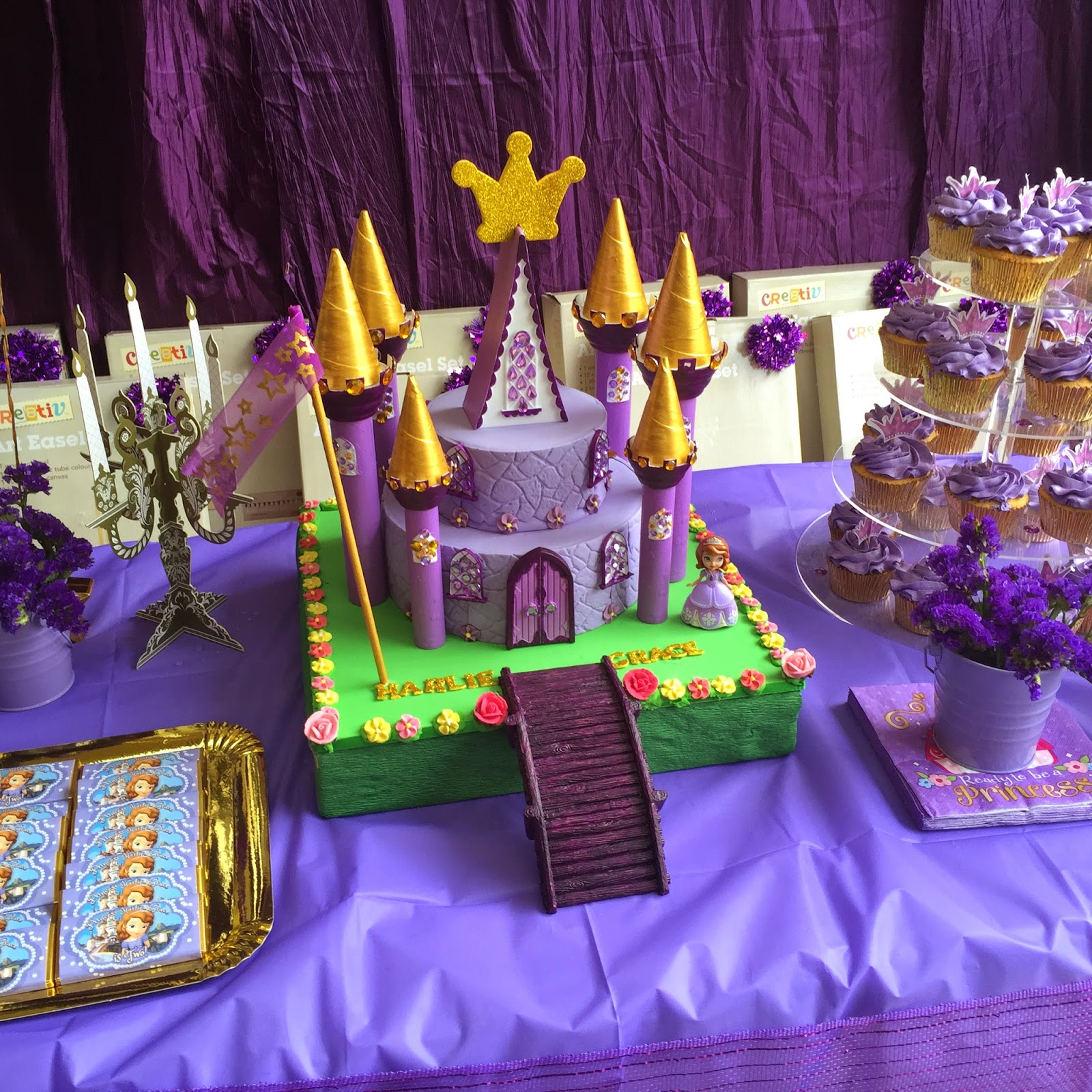 Harlie Rose Designs Sofia The First 2nd Birthday Party
