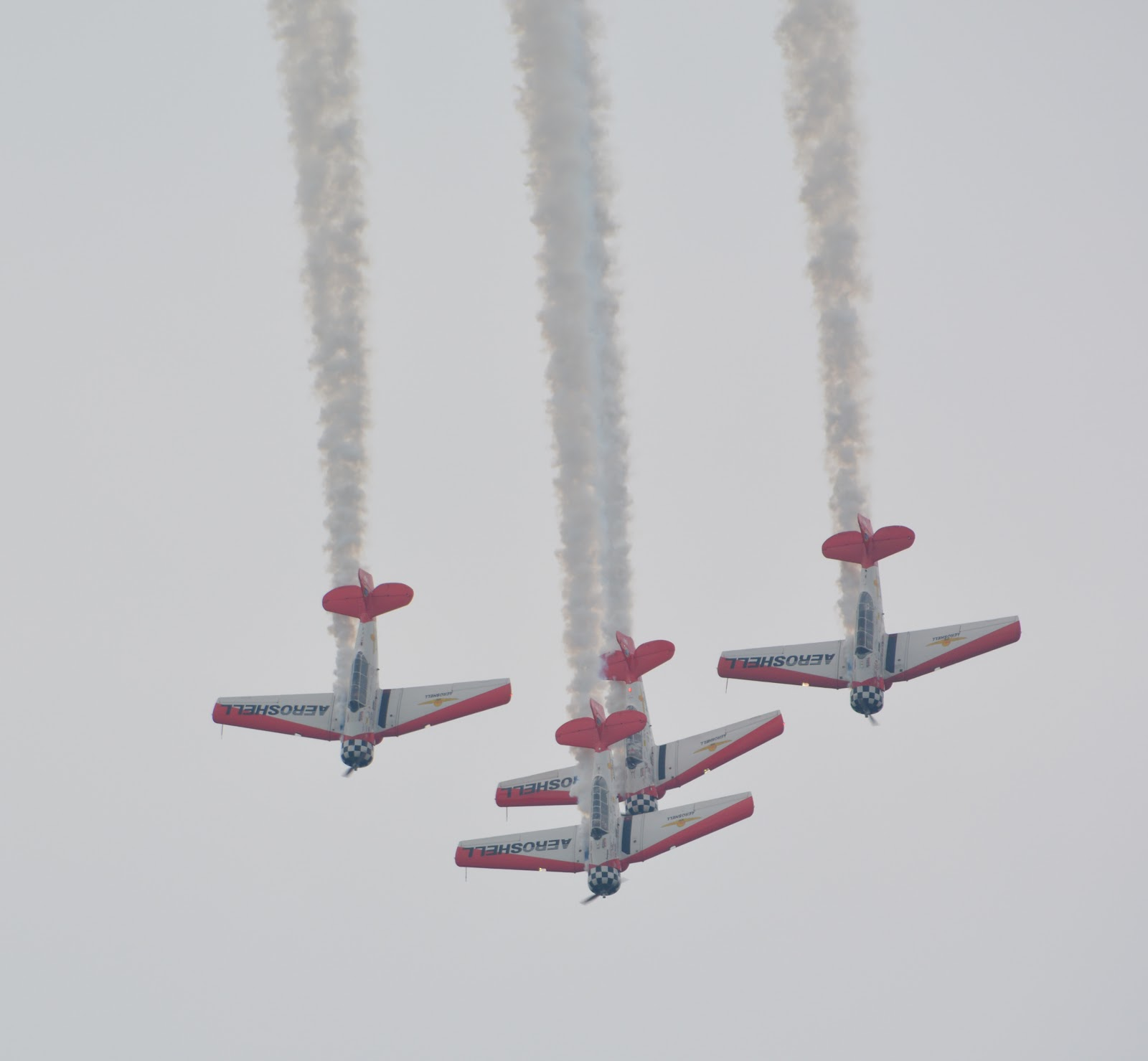 cozy birdhouse | dayton air show 2014, aeroshell formation aerobatic team