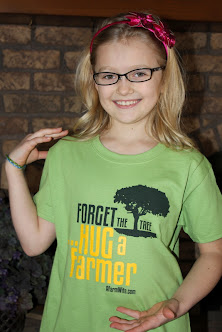 SPECIAL PRICE -Buy Youth - Forget the Tree Hug a Farmer T-Shirts - Kiwi - While supplies last.