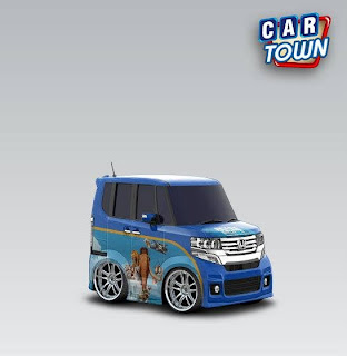 Honda N BOX + Custom 2012 Ice Age 4