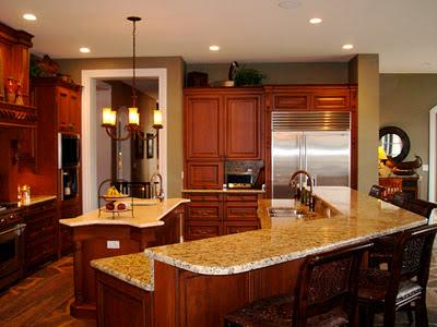 Decoraciones y modernidades cocinas lujosas for Decoracion de cocinas modernas y elegantes