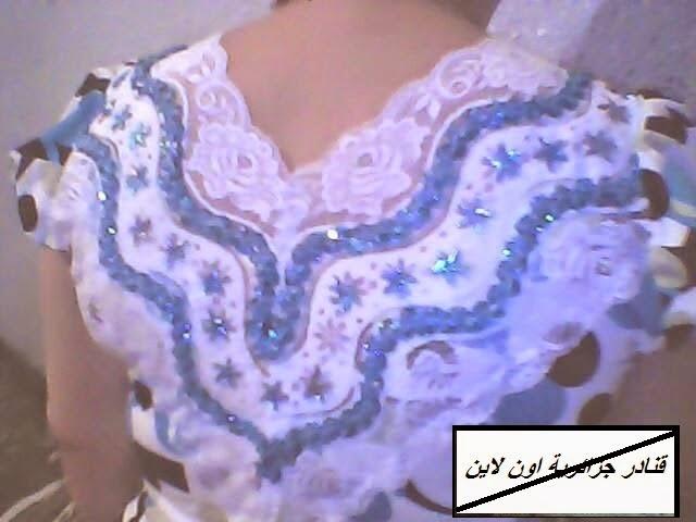أحدث موديلات الخياطة الجزائرية لقنادر الاعراس