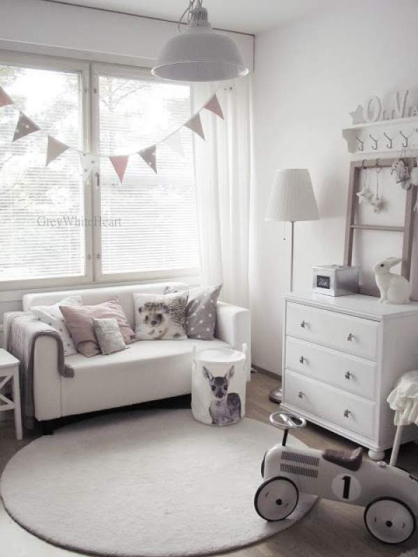 10 habitaciones infantiles en color gris oasisingular for Cuarto color
