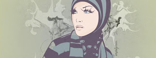 GIRL IN HIJAB Cover Photo For Facebook