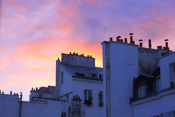 Dai tetti del Marais - foto di Elisa Chisana Hoshi
