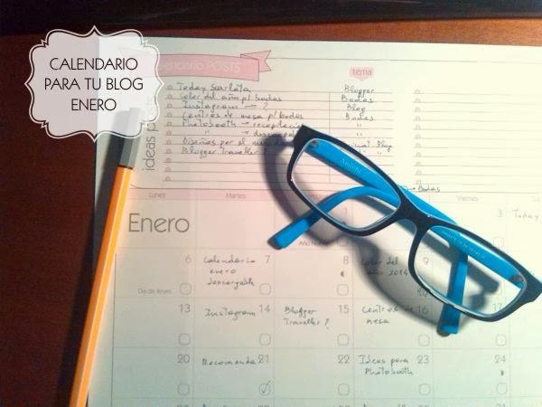 Calendario para tu blog